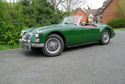 MGA  Mk2 Roadster. Body-off restor'n. Oselli rebuit/tuned engine. 5 spd gearbox
