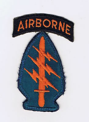 Late 60's, Early 70's Special Forces, Green Beret Shoulder Sleeve Patch (Ssi)