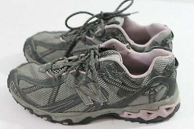 58518bfae4205 Women's New Balance 572 Size 8.5 B Gray Pink All Terrain Trail Running Shoes