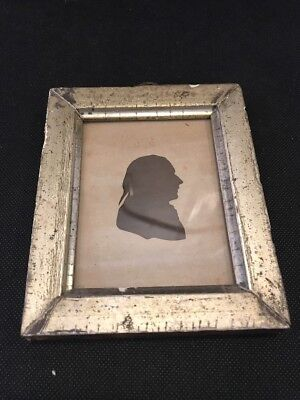 antique silhouette portrait Early Frame