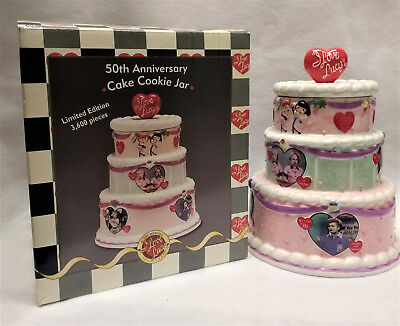 I Love Lucy 50th Anniversary Second Edition Cookie Jar by Vandor  (#1277/3600)