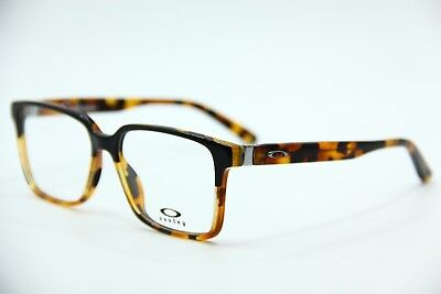 New Oakley Ox1128-0152 Tortoise Confession Eyeglasses Authentic Frame Rx 52-16