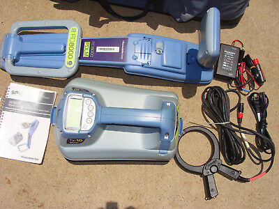 RADIO DETECTION RD8000 PIPE & CABLE LOCATOR w/TRANSMITTER *worksgr8* NR