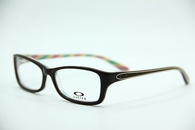 New Oakley Ox1088-0253 Brown Cosmo Short Cut Eyeglasses Authentic Frame Rx 53-15