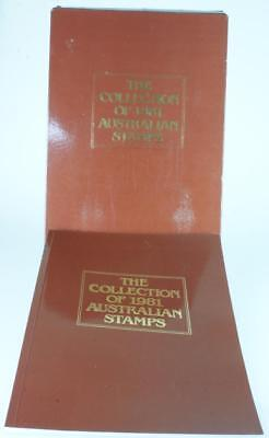 The Collection of 1981 Australian Stamps Original Album & Outer Sleeve PK94