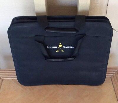 Johnnie Walker Whisky Black Shoulder Traveler Bag Tablet Books Unisex