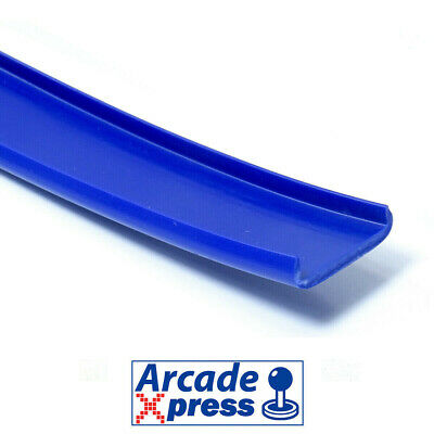 Perfil U Molding Canto Couvre Chant 16mm Bartop Dark Blue Azul Oscuro Arcade