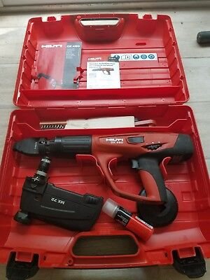 Hilti DX 460 W/case, MX 72 Magazine and some accessories. Free/Fast Shipping.