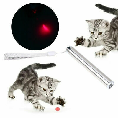 Pet Dog Puppy Cat Interactive Pen Red Laser With Light Exercise Teaser Fun Toy