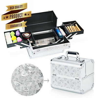 Hotrose Extra Large Space Storage Beauty Box Make up Nail Jewelry Cosmetic...