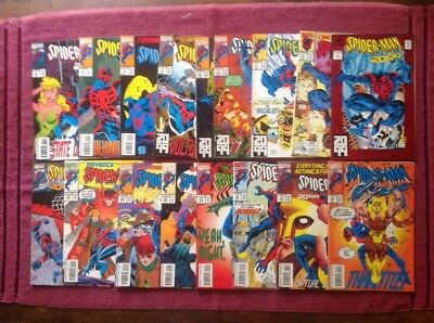 Spider- Man 2099 by Marvel Lot of 17 Comics VF/NM