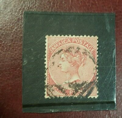 stamp - jamaica  1883 - 97  early issie fine used  - 1 d-   Lot 782