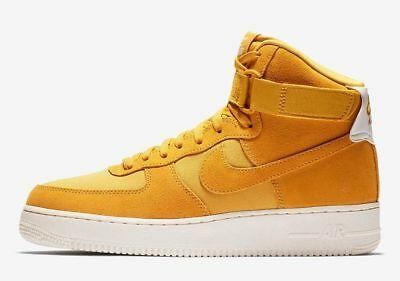 MENS NIKE AIR FORCE 1 HIGH 07 SUEDE Trainers AQ8649 400 BOX WITHOUT LID
