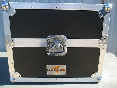 Lp Road Case With Wheels & Handel E-Systems Pro