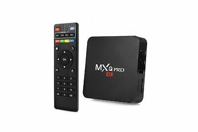 DECODER MXQ PRO 4K Smart  BOX A 8,1 OR 7 Penta Core 64bit WiFi 8GB MiniPC