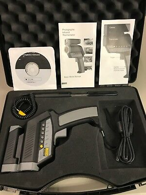 Mitchell MITMX6 Professional Infrared Thermometer and Digital Camera  Never Used