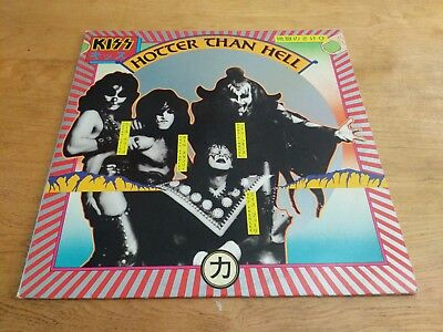 Vintage Vinyl Records KISS Hotter Than Hell