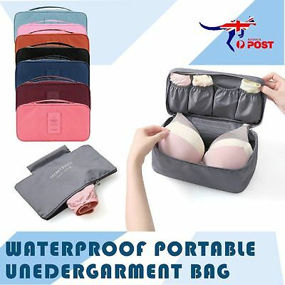 New Waterproof Portable Protect Bra Underwear Lingerie Case Travel Organizer Bag