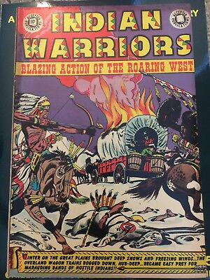 INDIAN WARRIORS 11 F VF L B Cole Cover