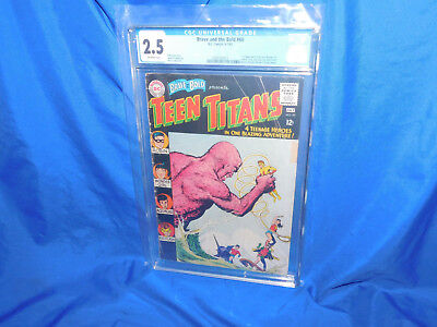 Brave & The Bold #60 CGC 2.5 1st Appearance Of Donna Troy Wonder Girl Joins Teen