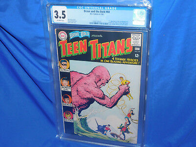 Brave & The Bold #60 CGC 3.5 1st Appearance Of Donna Troy Wonder Girl Joins Teen