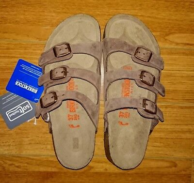 brand new 01784 168c0 Birkenstock Sandals 67 High Arch 3724075 Sz Florida Mocca ...
