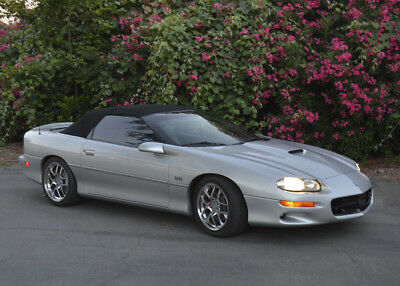 2000 Chevrolet Camaro SUPER SPORT LOW MI CONVERTIBLE LS1 V8 CORVETTE WHEELS LOWERED DROP TOP 2001 2002 1999 SS AT