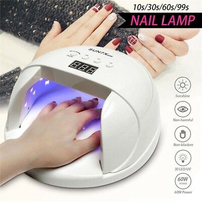 Sunrb2 24leds Nail Dryer Phototherapy Uv Lamp For Nail Manicure Drying Gels Lampara Led Manicura Led Lamp Nail Nails Art & Tools Beauty & Health