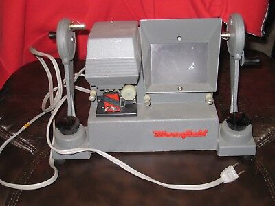 Mansfield REPORTER 8mm Film Editor Model 650 with Instructions Splicer and Box