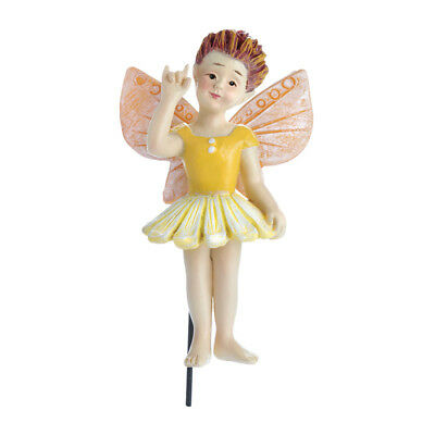 Miniature Dollhouse FAIRY GARDEN - Sign Language Fairy - Avalee - Accessories