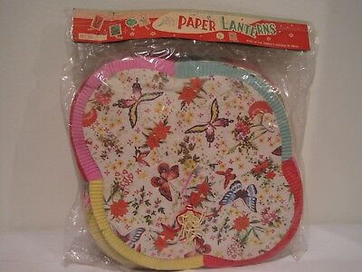 Vintage Paper Lanterns made in People's Republic of China in original packaging