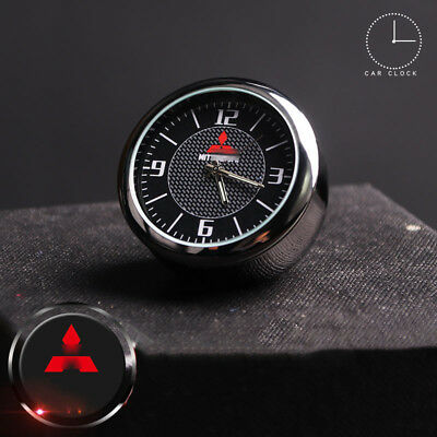 For Mitsubishi Car Clock Refit Interior Luminous Electronic Quartz Ornaments