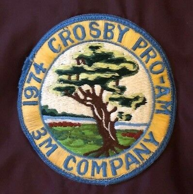 1974 Crosby Pro Am Golf Tournament Men's Souvenir Jacket