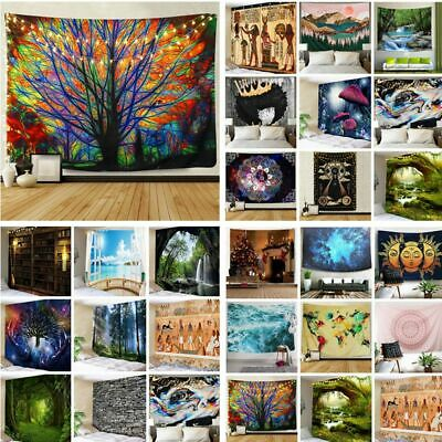 US Stock Hippie Psychedlic Tapestry New Room Wall Hanging Tapestries Home Decor