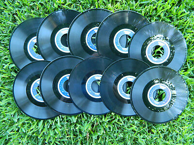 Seeburg Background Music Basic Music Library Records - 10 - 16 RPM