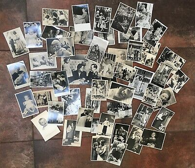 OLD photo's Lot of 50+ original photo card Dutch Royal family 1930's - 1940's