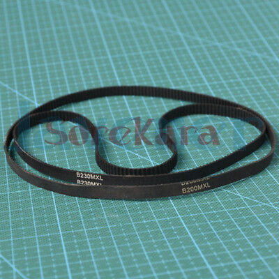 Rubber MXL Timing Belt Synchronous 118mm-160mm 3D Printer Closed Loop 5