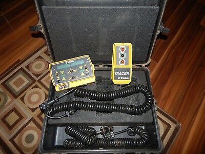 Trimble Tracer Ultra Sonic Grade Controller And Operator Interface Box