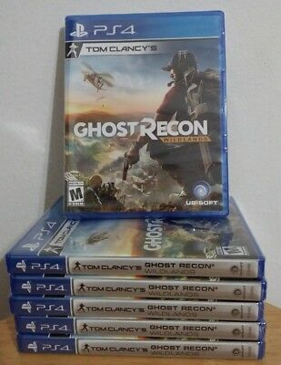 Tom Clancy's Ghost Recon: Wildlands (PlayStation 4, 2017) BRAND NEW & SEALED