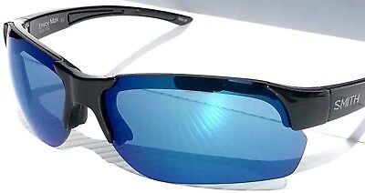 371b85965a NEW  SMITH Optic ENVOY MAX Black frame ChromaPop POLARIZED Blue Mirror  Sunglass