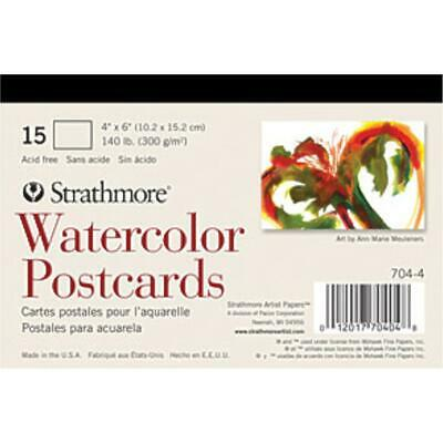 Strathmore Paper - Watercolour - Postcards 6x4 Pad - 15 Sheets