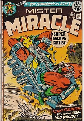 MISTER MIRACLE #6 NMINT 9.4 1st Appearance Female Furies & FUNKY Stan LEE 1972