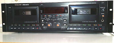 Tascam 302 MK11 PROFESSIONAL DOUBLE CASSETTE ANALOGUE TAPE RECORDER