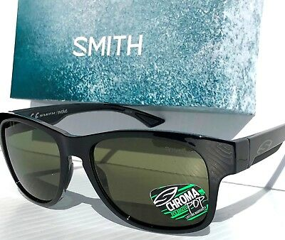 c0f4d511b7c NEW  SMITH Optic WAYWARD Black w ChromaPop POLARIZED Gray Green Sunglass