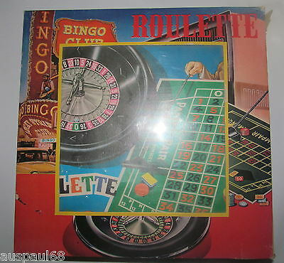 Vintage Roulette Game Made in Hong Kong Number 6438