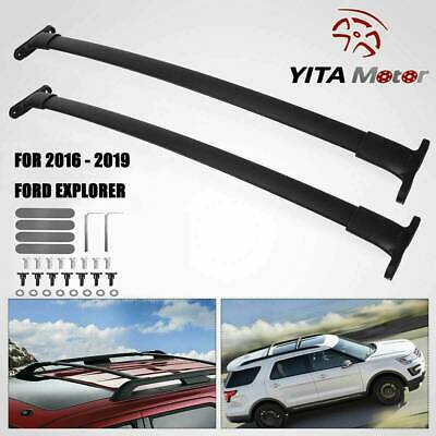 For 16-18 Ford Explorer OE Style Aluminum Roof Rack Cross Bar Luggage Carrier