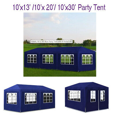 10'x13'/10'x 20'/ 10'x30' Party Tent Gazebo Wedding Canopy BBQ Shelter Removable