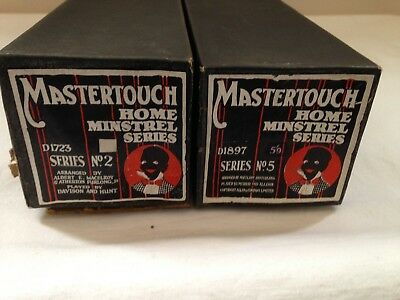 Mastertouch Word Home Minstrel Series 2 & 5 Pianola Roll