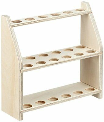 Neolab Electric Long Wooden Test Tube Rack for 12JARS ON TWO LEVELS, Hole ...