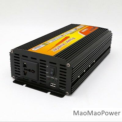 1500Watt 3000W(peak) 24V Battery High power inverter DC to AC Car, RV, Solar, RV